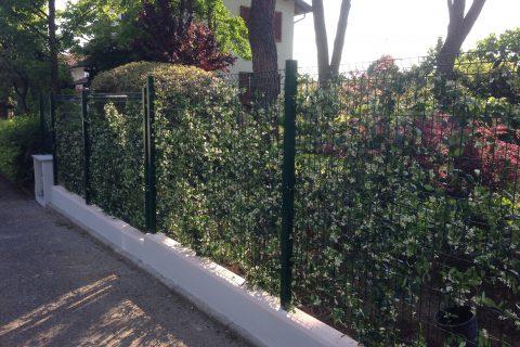 Nuove recinzioni in muratura