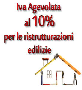 Iva Agevolata 10%